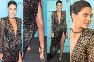"""Długie nogi Kendall Jenner na urodzinach """"Harper's Bazaar"""" (ZDJĘCIA)"""