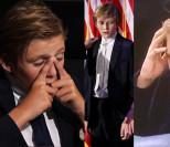 Internauci szydzą z 10-letniego Barrona Trumpa: