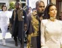 Kim i Kanye w