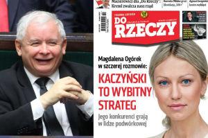 """Magdalena Ogórek zachwyca się Kaczyńskim: """"Jest wybitnym politycznym strategiem. Sprowadza opozycję do parteru"""""""