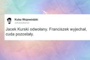 """Wojewódzki komentuje zwolnienie Kurskiego. """"Cuda pozostały"""""""