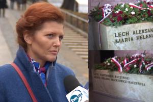 """Projektantka nowego sarkofagu Kaczyńskich: """"Pierwszy nie przewidywał otwierania. Teraz jedna z płyt będzie demontowalna"""""""