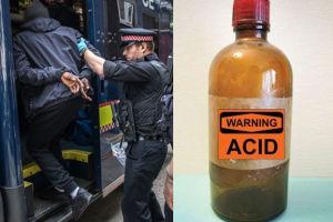 Zatrzymano podejrzanych o ataki kwasem w Londynie. Mają zaledwie po kilkanaście lat!