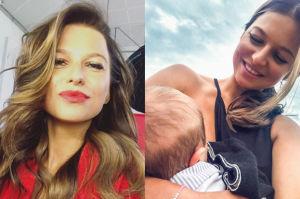 """Lewandowska opowiada o macierzyństwie w TVN: """"Nie mam niań, karmię piersią, bujam nóżką"""""""