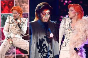 Lady Gaga przebrana za Davida Bowie... (ZDJĘCIA)