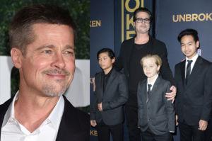"""""""People"""": Brad Pitt odżył po rozwodzie. """"Widuje się częściej z dziećmi"""""""