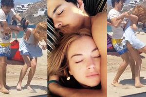 """Lindsay Lohan o pobiciu przez narzeczonego: """"Boję się, że mnie ZABIJE! To nie był pierwszy raz"""""""