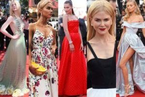 Cannes 2017: ZOBACZCIE NAJLEPSZE STYLIZACJE z czerwonego dywanu: Kidman, Fanning, Hadid, Maffashion... (ZDJĘCIA)