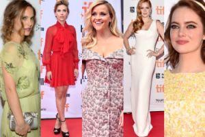 Natalie Portman, Scarlett Johansson, Reese Witherspoon i Amy Adams na czerwonym dywanie w Toronto (ZDJĘCIA)