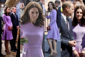 Księżna Kate w sukience na zamówienie i z kolczykami za ponad 20 TYSIĘCY ZŁOTYCH (ZDJĘCIA)
