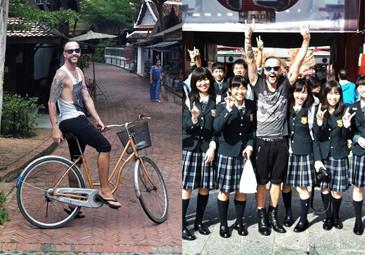 Nergal z japońskimi uczennicami! (FOTO)