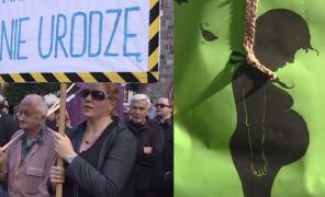 Czarny Protest w Sopocie.