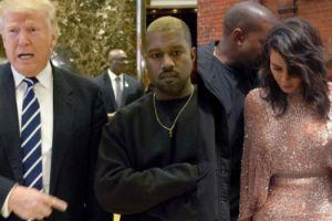 """Kim Kardashian """"na razie"""" nie chce rozwieść się z Kanye Westem… """"Poróżniły ich poglądy polityczne"""""""