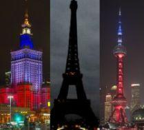 Cały świat solidaryzuje się z zaatakowaną Francją