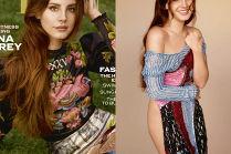 Lana Del Rey zasłania się sukienką