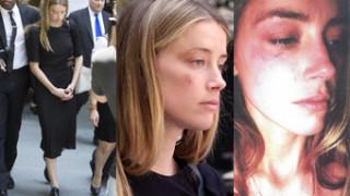 Pobita Amber Heard wychodzi z sądu (ZDJĘCIA)