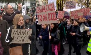 Tak wyglądał II Ogólnopolski Strajk Kobiet.