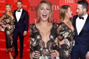 """Blake Lively i Ryan Reynolds przytulają się na gali """"Time'a"""" (ZDJĘCIA)"""