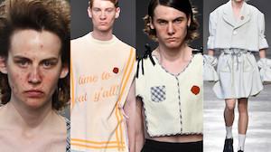 Nowa moda na wybiegach: PRYSZCZACI MODELE... (ZDJĘCIA)