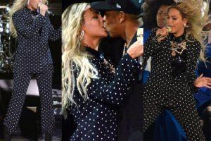 Beyonce i Jay-Z całują się na scenie! (ZDJĘCIA)