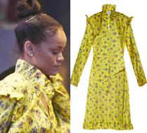 Rihanna w żółtej sukience za 6 tysięcy złotych! Ładna?