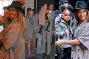 Beyoncé z mężem i córką na premierze w Nowym Jorku! (ZDJĘCIA)