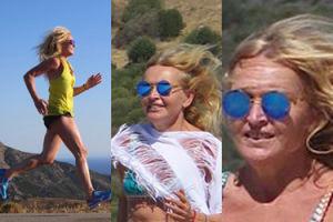 Monika Olejnik... (nadal) biegnie w bikini (FOTO)