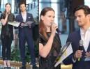 Malinowska i Krawczyk prowadzą pokaz mody w centrum handlowym! (ZDJĘCIA)