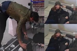Janiak przepakowuje walizki na lotnisku