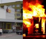 Bezdomny z zemsty podpalił Biedronkę. Bo nie dopuszczono go... do śmietnika!