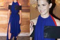 """Emma Watson promuje """"Piękną i Bestię"""" w Paryżu"""