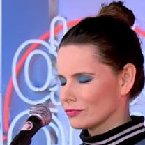 Była żona Stuhra śpiewa w Dzień Dobry TVN
