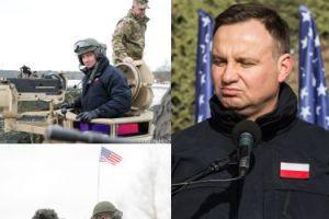 Andrzej Duda pozuje w... czołgu (ZDJĘCIA)