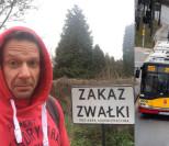 """Kierowca warszawskiego autobusu do Grzegorza Małeckiego: """"Jesteś żadnym """"panem"""", tylko zwykłą kur*ą, ku*wo je*ana"""""""