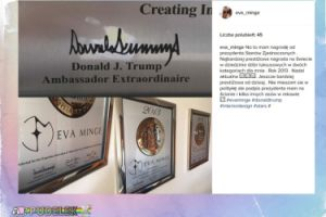 """Ewa Minge: """"Podpis prezydenta mam na ścianie"""""""
