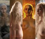 Emilia Clarke znowu się rozebrała w