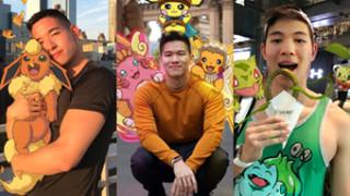 Napakowany Indonezyjczyk chwali się zdjęciami z wakacji z... pokemonami! (ZDJĘCIA)