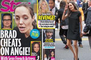 Angelina chudnie, bo Brad ZDRADZA JĄ z Marion Cotillard?!