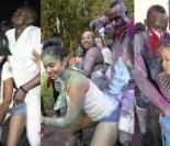 Usain Bolt znów udaje KOPULACJĘ z przypadkowymi kobietami na imprezie w Trynidadzie (ZDJĘCIA)