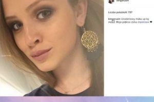 """Kinga Rusin zrobiła córce """"urodzinowy make-up"""""""