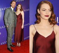 Ryan Gosling i Emma Stone na czerwonym dywanie