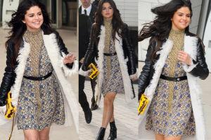 Selena Gomez na paryskim Tygodniu Mody (ZDJĘCIA)