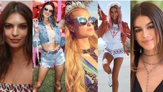 """Tak wyglądała Coachella 2017: wystylizowane """"aniołki"""" Victoria's Secret, inwazja polskich szafiarek i peruki Kylie Jenner (ZDJĘCIA)"""