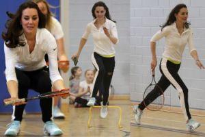 Księżna Kate ćwiczy i gra w tenisa (ZDJĘCIA)