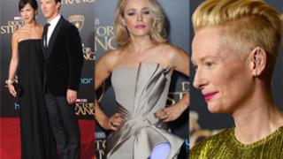 """Rachel McAdams, Tilda Swinton i Benedict Cumberbatch na premierze """"Doktora Strange'a"""" (ZDJĘCIA)"""