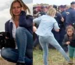 Węgierska reporterka SKAZANA ZA KOPANIE UCHODŹCÓW. Dostała 3 lata dozoru za... chuligaństwo