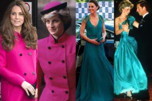 Kate Middleton vs. księżna Diana! (ZDJĘCIA)