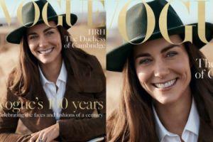 """Księżna Kate na okładce """"Vogue'a""""! (FOTO)"""