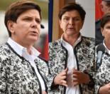 Przejęta Beata Szydło na posiedzeniu Zespołu Zarządzania Kryzysowego (ZDJĘCIA)