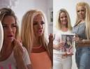 Matka i córka wydały ponad 50 tysięcy funtów, żeby wyglądać jak Katie Price!